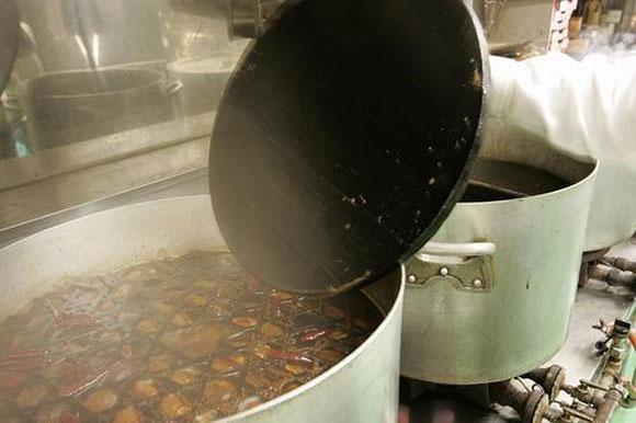 清流魚の煮付けセットトップ