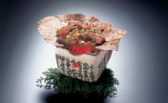 飛騨牛朴葉味噌焼き50Nトップ